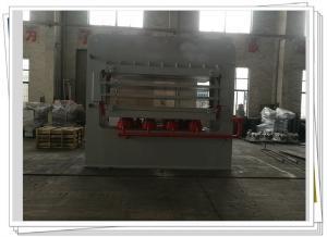 China Melamine Door Skin Multi Layer Veneer Hot Press Machine For Doors , Wood Press Machine on sale