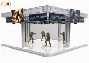 China 2018 hot sales VR shooting games vr space war 9D vr simulator on sale