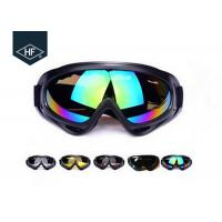 China ABS Plastic Frame Motorcycle Helmet Accessories , PC Lens X400 Atv Helmet Goggles on sale