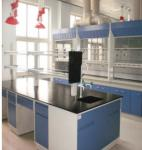 Modern School Chemical Laboratory Furniture Double Skinned To Reduce Noise Level