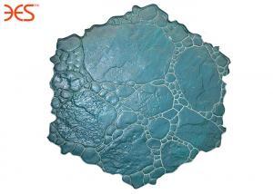 China Cement Pattern MoldsPebble Stone Texture , Random Mosaic Decorative Concrete Molds on sale