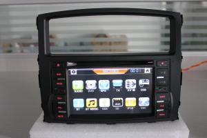 China Double DIN 7inch Car DVD GPS for Mitsubishi Pajero, with TV, Bt, iPod Rockford Digital Audio System Supported (TS7725) on sale