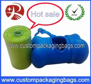 China Biodegradable Corn Starch Dog Poop Bags For Supermarkets / Shops / Home And Store on sale