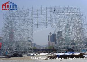China Speaker Stands Layer Truss , Durable Grid Frame Structure6m - 12m Normal Height on sale