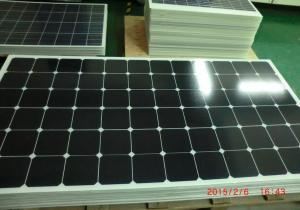 China Rooftop 140W Photovoltaic Efficient Solar Panels For Communications / Pumping on sale