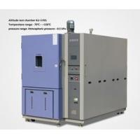 Water Cooled Altitude Simulation Chamber , Aeronautical Simulated High Temperature And Pressure Test Box