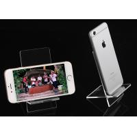 China Acrylic Mobile Phone Holder Acrylic Cell Phone Stand Two Pieces Of Assembled on sale