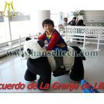 China Hansel 2016 hottest plush ride,safari rides,safari kid rides safari toy animal rides wholesale
