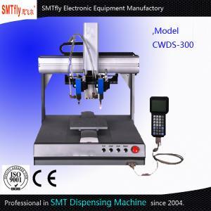 China Desktop SMT Solder Paste Dispensing Robot ±0.02mm Repeatability on sale