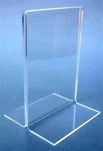 China Acrylic Menu Card Table Tent Holders Display Stand on sale