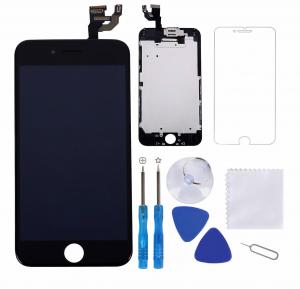 China 5.5 Inch LCD Touch Screen Iphone 6 Plus Black Excellent Performance on sale
