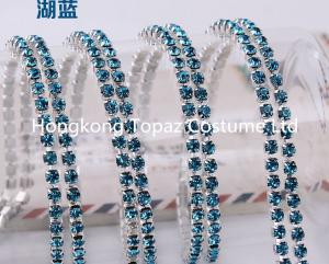 China Crystal Rhinestone Glass Crystal Cup Chain In Roll For Dress,Shoes,Necklace,Bracelet on sale