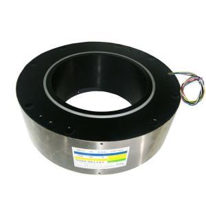 China 5 Amps Signals Custom Optional Through Bore Slip Ring Inner Diameter 190 Mm 50 Amps Ring For Heavy Equipment on sale