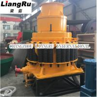 China High Efficiency Mobile Spring Cone Crusher For Stone / Industrial Rock Crusher on sale
