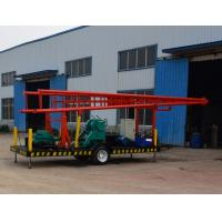 China Trailer Mounted Water Well Drilling Rigs / Truck Mounted Rotary Drilling Rig on sale