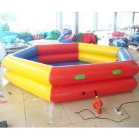 China plastic inflatable swimming pool on sale