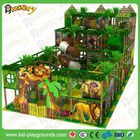 100% Safety KFC Kids Residential Indoor Playground Equipment Day Care Centre Indoor Jungle Gym , Indoor Preschool Playgr