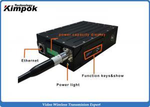 China Powerful Full Duplex HD Wireless Video Transmitter RJ45 Port TDD - COFDM Transceiver on sale