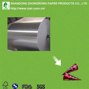 China aluminum foil paper for ice cream cone on sale