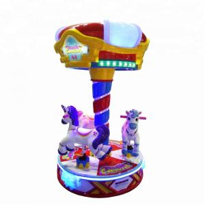 China Dream Carousel Kids Arcade Machine Coin Operated CE Certificated on sale