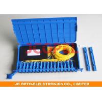 1x16 PLC Fiber Optic Splitter Tray High Reliability For Fiber Optic Distribution Unit Box
