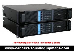 China 4 Channel Switch Mode Amplifier 4 x 1300W FP 10000Q For Line Array Speakers In Concert on sale