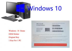 Quality Windows 10 Home OEM Pack English Online Activation Forever legal Using for sale