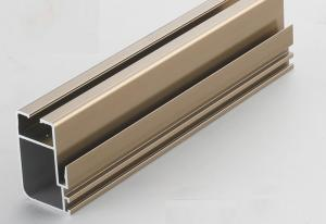 China China 6000 series customized highly quality anodized aluminium window profile/ aluminum doors profile/glass wall profile on sale