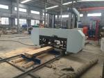 China MJ2000 large size CNC horizontal wood band saw cutting machine cheap price