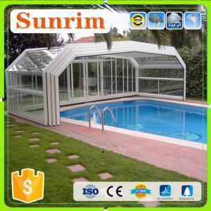 Family&Business Use Automatic Telescopic Swimming Pool ...