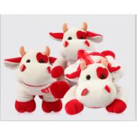 China Cute Redbull Milka-Cow Stuffed Plush Toy For Promotion Gifts , Soft Toys for Collection on sale