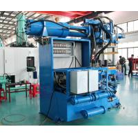 Sensor Control Horizontal Rubber Injection Molding Machine 550 Ton Dual Stages Feeding System