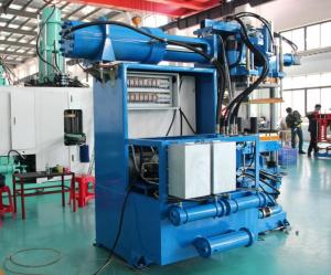 China Sensor Control Horizontal Rubber Injection Molding Machine 550 Ton Dual Stages Feeding System on sale