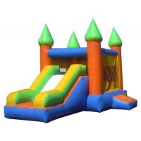 small combo affortable animated inflatable bouncers for air blwon