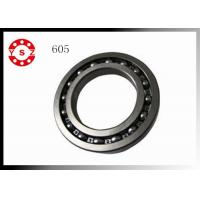 Deep Miniature 605 Zz Grooved Ball Bearing With Chrome Steel Cage