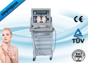 China Skin Care Vertical 800W Ultrasonic HIFU Machine 3MHZ Frequency For Forehead on sale