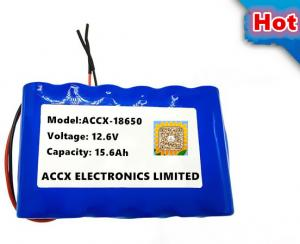 China 12.6V 15.6Ah lithium battery pack  for sweeper robot rechargeable li-ion battery pack 12V on sale