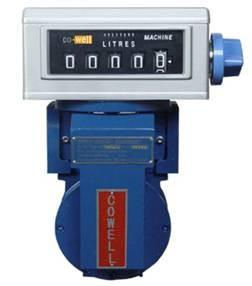 China Steel / Aluminium Positive Displacement Water Meter With Mechanical Register on sale