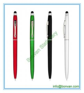 China plastic promotional stylus pen,plastic stylus ball pen on sale