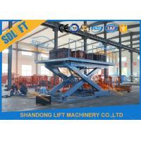 China 3T 3M Stationary Scissor Elevator Hydraulic Scissor Car Lifting Platform on sale