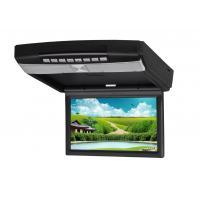 "Black 9"" HD LED PAL/NTSC Anti - shock Multi - Language High Resolution Car Flip Down DVD Player"