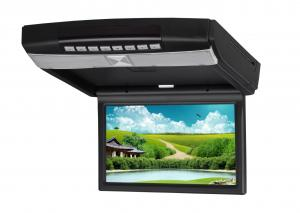 China Black 9 HD LED PAL/NTSC Anti - shock Multi - Language High Resolution Car Flip Down DVD Player on sale