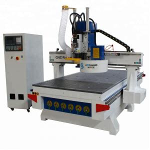 China Vacuum Table Automated Wood Carving Machine For Customized Furniture 1300x2500mm on sale