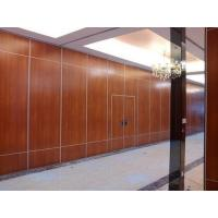 Office Sound Proof Partition Wall , Melamine Surface Sliding Folding Acoustic Room Dividers
