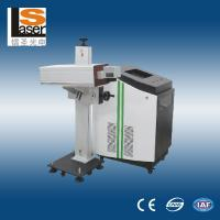 China Buttons Fiber Laser Marking Machine For Metal , Plastic , Wood on sale