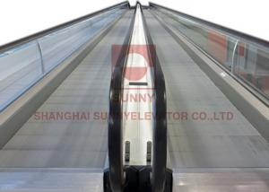 China AC Driven 0.5M/S Flat 1000mm Airport Moving Walkway Conveyor Mechanism on sale
