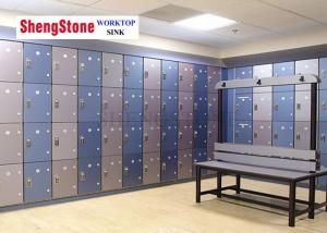 China Moistureproof And Anti Beter Hpl Cabinets Customized Size For Gymnasium Use on sale