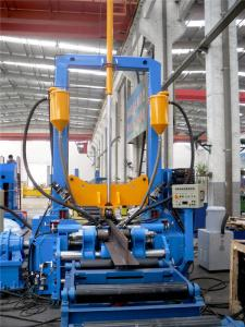 China H beam assemblying welding and straightening machine  Automatic 3 in 1 H beam productions line on sale