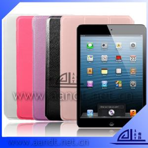 China PU Leather Wallet  Case For iPad Mini on sale