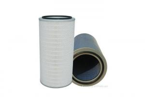 China Spun Bond Media Gas Turbine Air Filter Good Abrasion Chemicals Resistant on sale